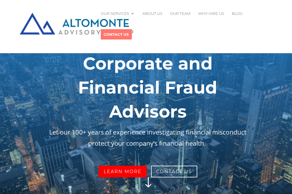 Home page of Home page of Altomonte Advisory Group website